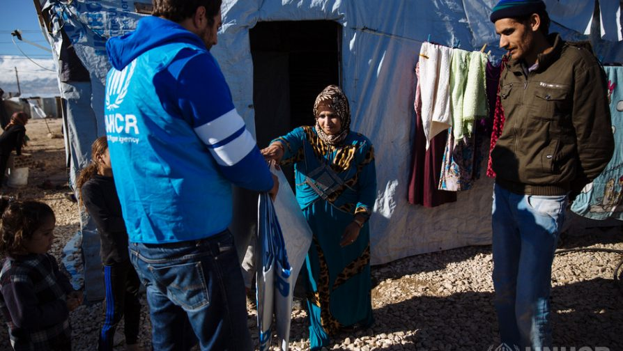 Lithuania donates to UNHCR to help Syrian refugees