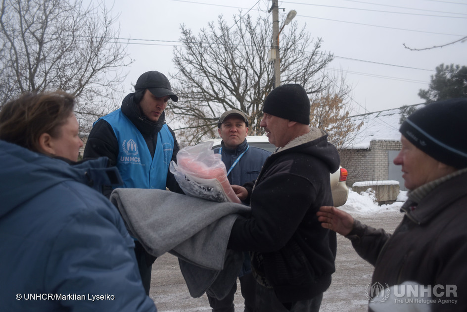 Lithuania donates €50,000 to UNHCR to help people forced to flee their homes in Ukraine