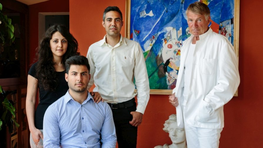 Architect helps Syrian trio build new lives in Sweden