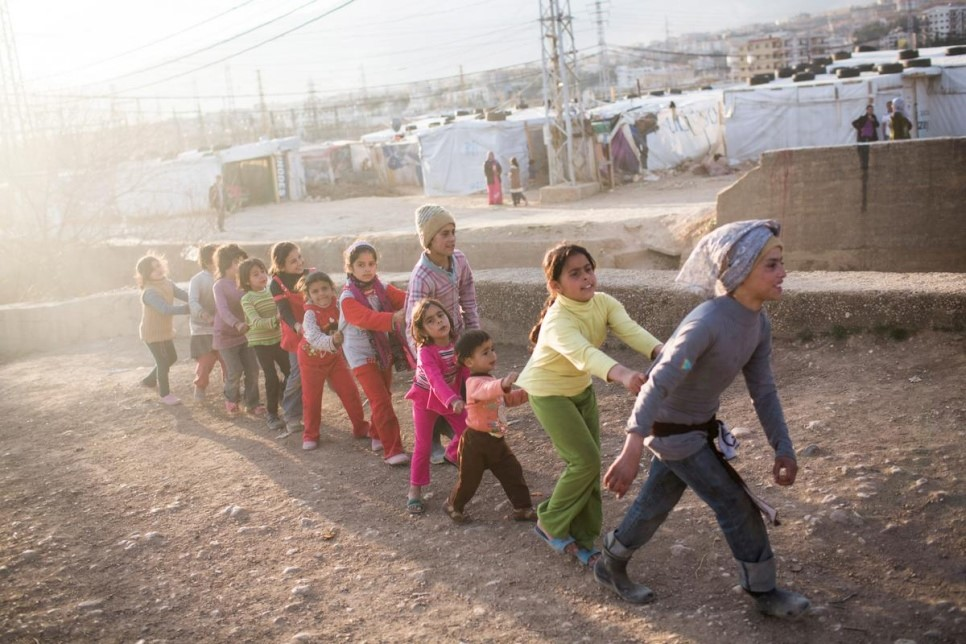 Iceland generously funds UNHCR with USD 2.4 million.
