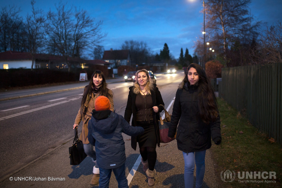 Denmark. Syrian mother reunited with children she feared had drowned