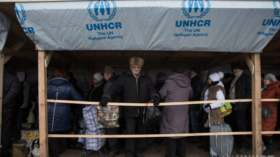 Estonia donates half a million euros to UNHCR's emergency operations