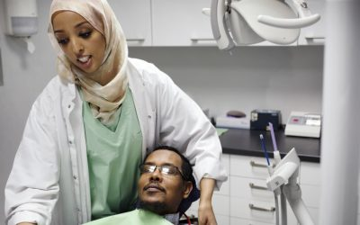 Call to prayer helps dentist's Muslim patients feel at home