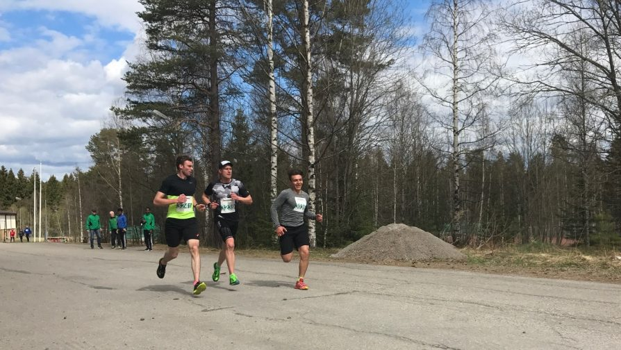Health, distraction and integration – the story of how Sayed ran a marathon