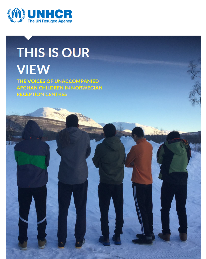 "Study ""This is our view: the voices of unaccompanied afghan children in Norway"""