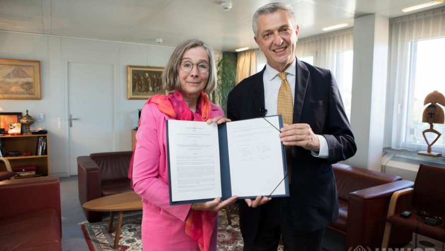 Sweden signs record high USD 400 million funding agreement with UNHCR