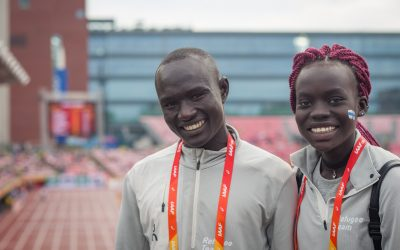 Refugee athletes shine at world championships in Finland