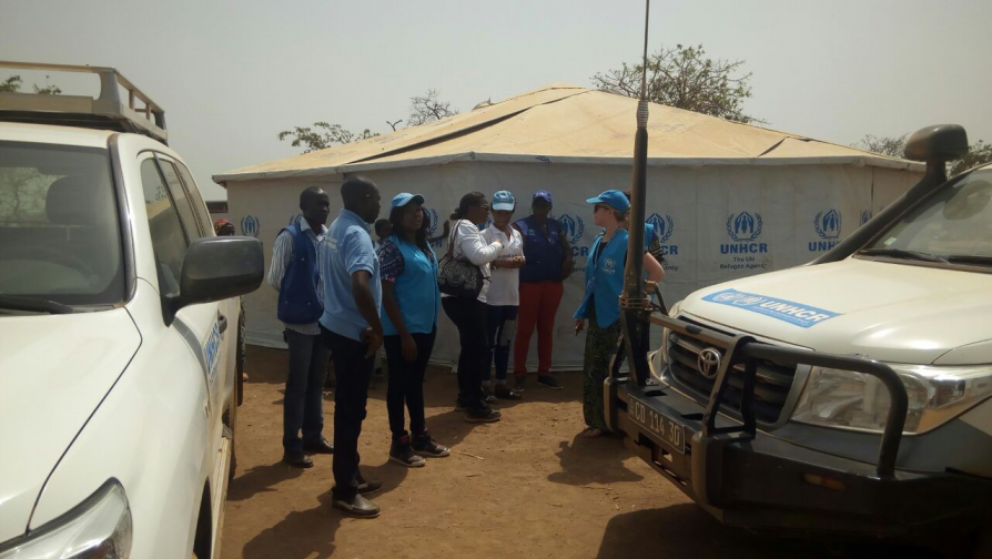 "In the field with UNHCR: ""Our crisis is certainly a forgotten one"""