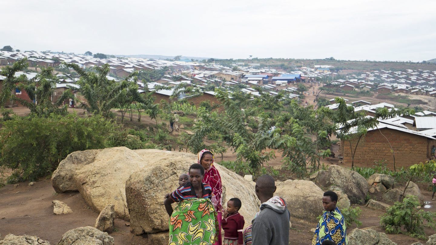 Mahama Camp in Eastern Rwanda, which is home to +57,000 Burundi refugees.
