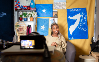 Somali YouTuber in Iceland inspires young girls globally