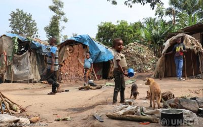 Finland helps provide shelter to displaced Congolese families