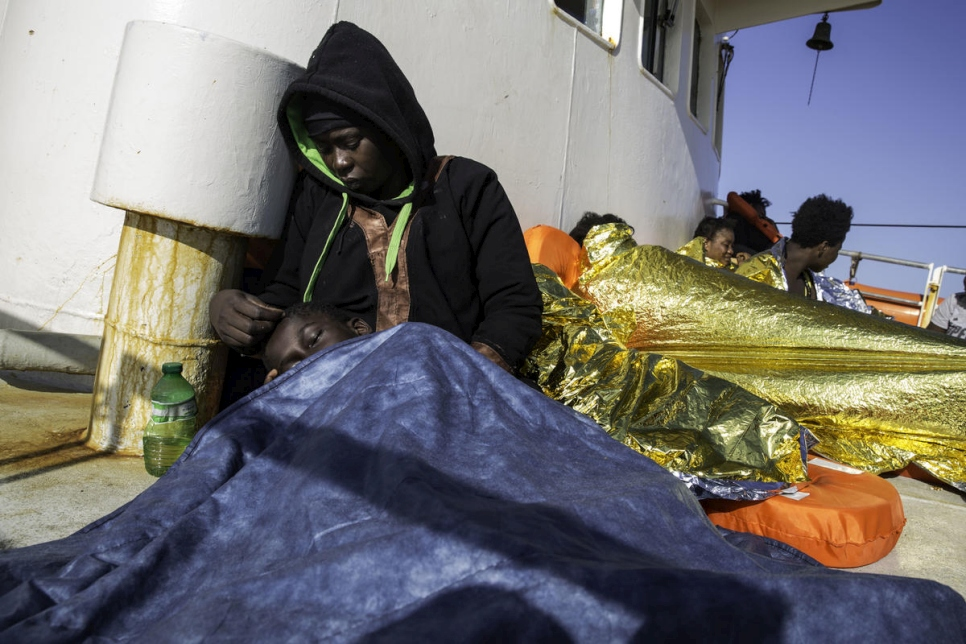 Six people died each day attempting to cross Mediterranean in 2018, UNHCR report shows - UNHCR Northern Europe