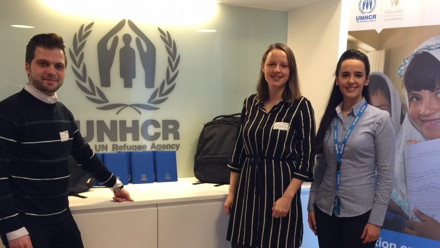 UNHCR donates equipment to refugee students in Denmark