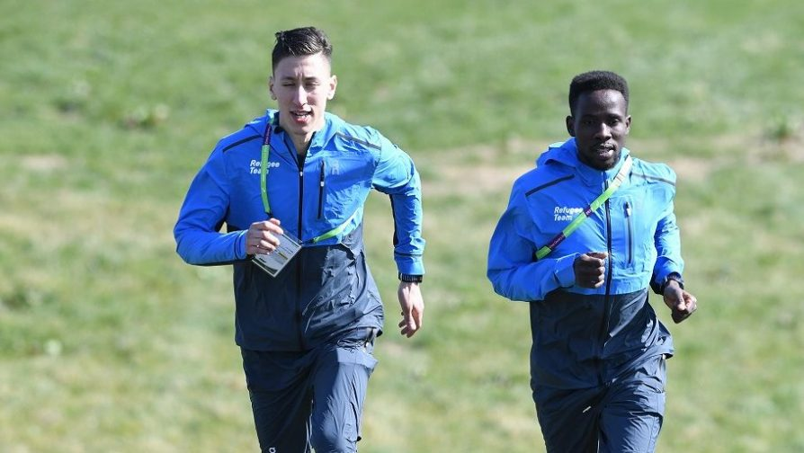 Refugee athletes run to inspire at the Cross Country World Championships