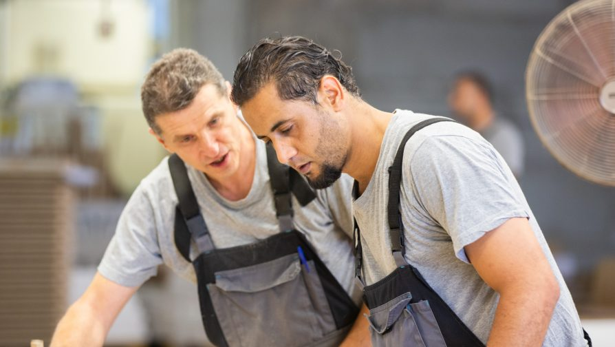 Employment opens doors for a Syrian refugee in Lithuania