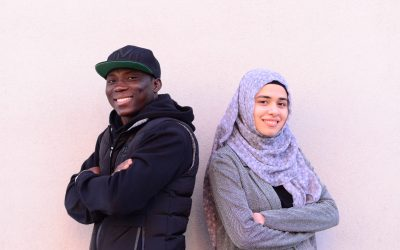 Finland's Refugees of the Year 2019 are Rand Mohamad Deeb and Nourdeen Toure