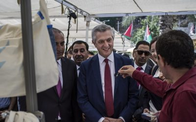 A message to the world's refugees from UNHCR chief Filippo Grandi
