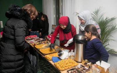 First Estonian refugee Christmas market leaves a sweet taste in visitors' mouths