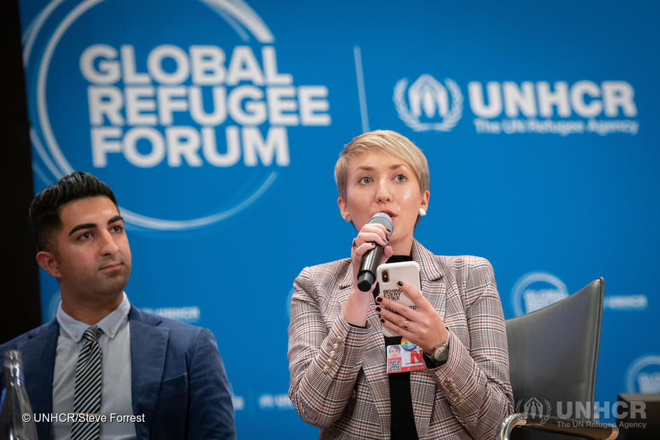 Switzerland. Refugees comment on the outcomes of the Global Refugee Forum