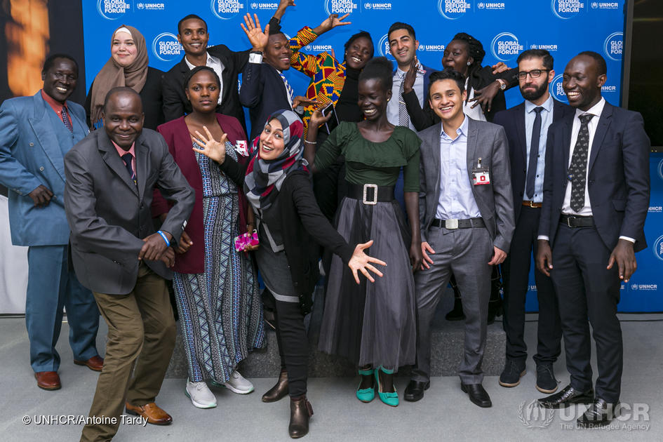 Switzerland. Refugee student and alumni delegation attends Global Refugee Forum