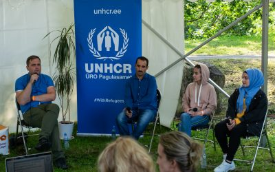"Refugees speak at the Opinion Festival: ""Estonians, let's be friends!"""