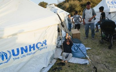 UNHCR: alleviating suffering and overcrowding in Greek islands' reception centres must be part of the emergency response