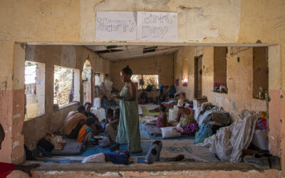 Ethiopians fleeing to Sudan receive Danish support
