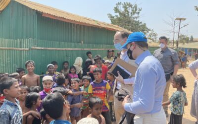 Swedish Minister visits the world's largest refugee settlement