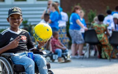 Football and fika co-organized by refugees in Sweden marks World Refugee Day
