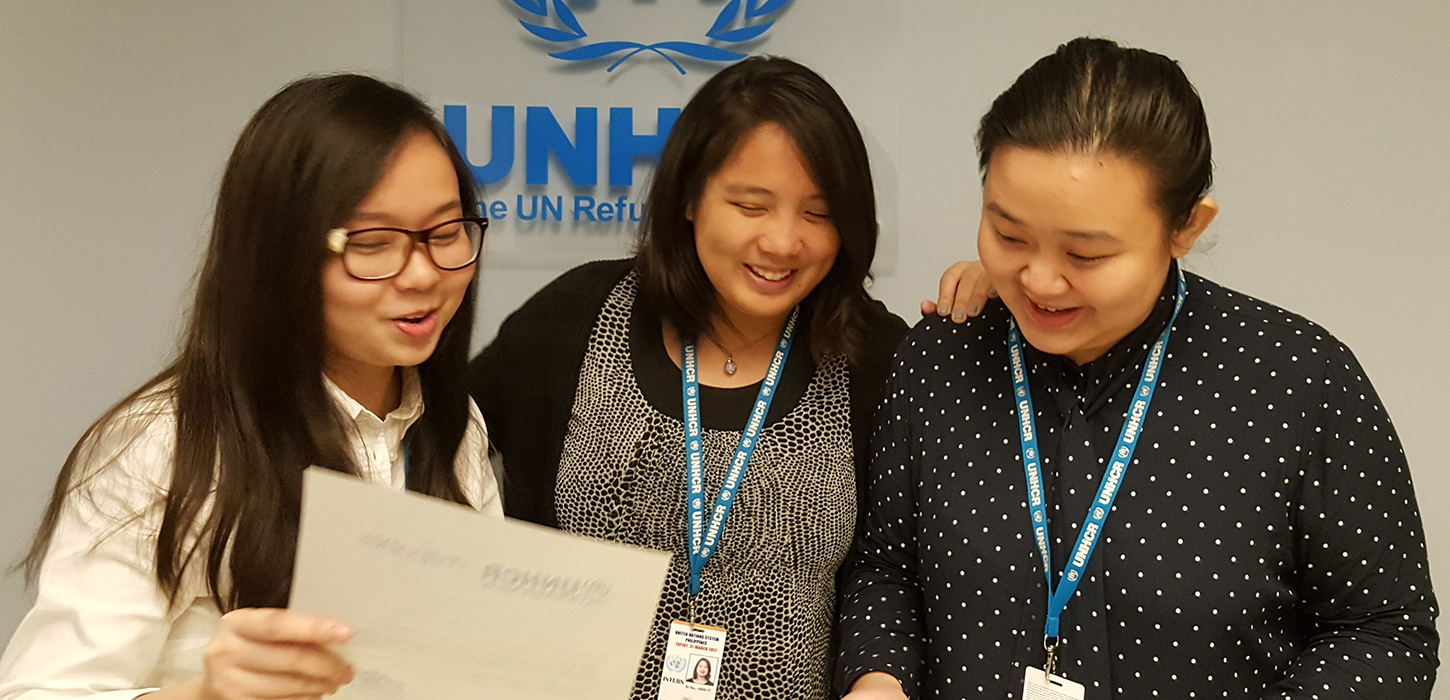 Internships at UNHCR Philippines — UNHCR Philippines