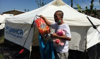 For this displaced family, a tent is a fresh start