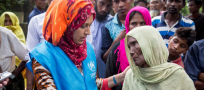 As new arrivals top half a million in Bangladesh, UNHCR getting ever more refugees into shelter