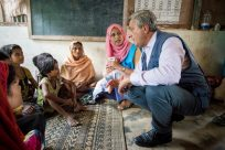 UNHCR chief calls for stepped-up support for Rohingya refugees, thanks Bangladesh for keeping borders open