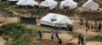 UNHCR: First group of Rohingya refugees moves to new emergency shelters