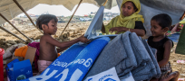 UNHCR distributes aid to Rohingya refugees ahead of Bangladesh winter