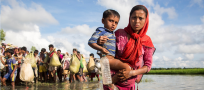 UNHCR highlights the situation of Rohingya in no man's land, steps up preparations for monsoons