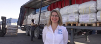 The Woman at the Head of UNHCR's Supply Chain