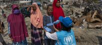 UNHCR delivers aid for Indonesia earthquake survivors