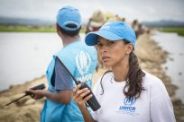 UNHCR launches new season of award-wining podcast on humanitarian workers