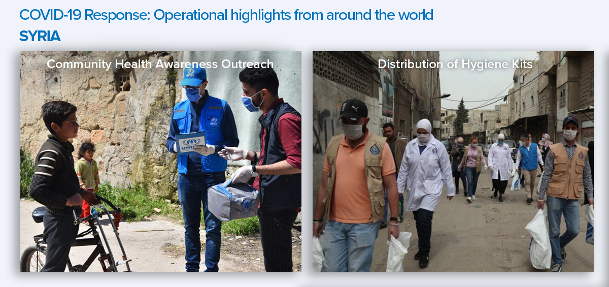 COVID Response Highlights_Syria