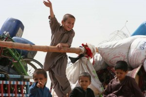 The challenge of life in their Afghan homeland for children born in exile