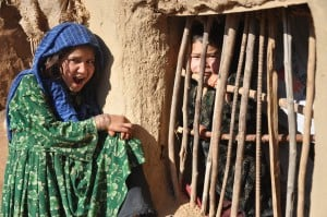 Helping three-year-old Afghan refugee to escape an early marriage