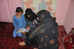 Teacher's vision brings education to hundreds in Pakistani refugee village