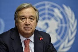 UN High Commissioner for Refugees António Guterres