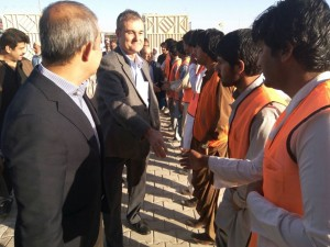 UNHCR hands over completed RAHA projects to provincial authorities
