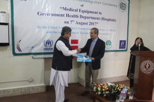 UNHCR's health project to benefit 200,000 patients in Balochistan