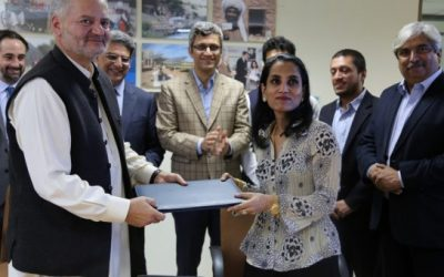 UNHCR and the Pakistan Poverty Alleviation Fund launch new livelihoods program
