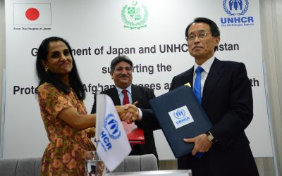Japan pledges USD 2.7 million to support Afghan refugees and Pakistani youth