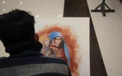 UNHCR organises painting competition in Peshawar