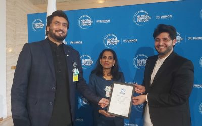 UNHCR appoints Javed Afridi as UNHCR Pakistan's Refugee Youth Ambassador